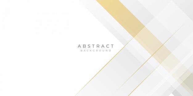Элегантная презентация золотом и белом фоне