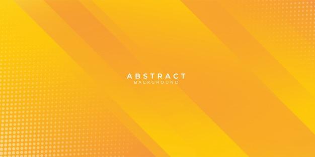 ハーフトーン装飾と新鮮なオレンジ色の抽象的な背景