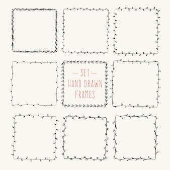 Старинные рамки для рисования по вашему шаблону.