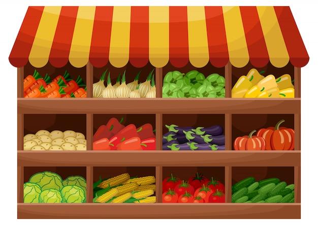 Овощеводческий магазин
