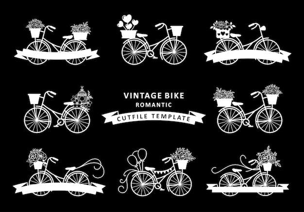 Коллекция старинных велосипедов