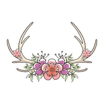 鹿の鹿の花
