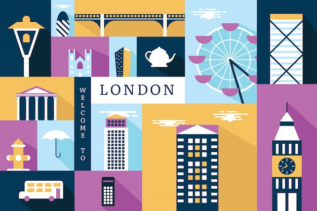 ロンドンのベクトルイラスト