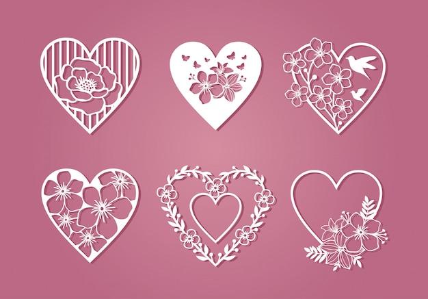 Красивая монограмма любовной коллекции