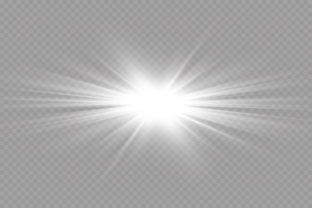 Свечение световой эффект. иллюстрации. рождественская вспышка. пыль. падающий снег. украшение.
