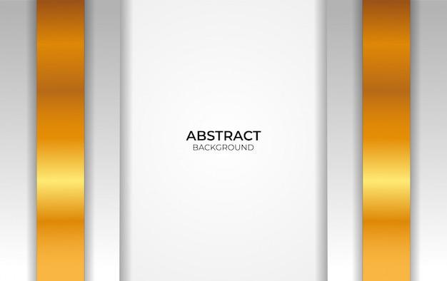 Дизайн белый и золотой фон аннотация