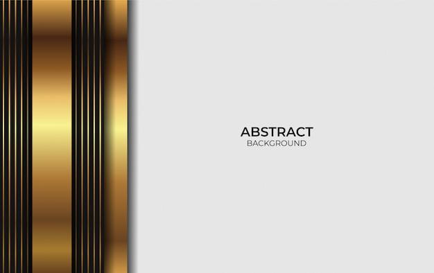 Золотой и черный дизайн фона