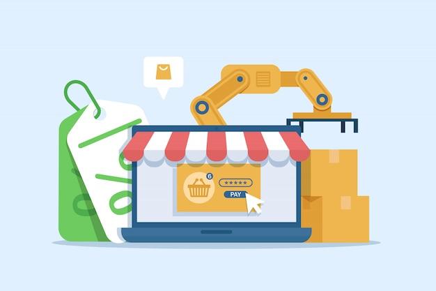 Онлайн маркетинг. интернет-бизнес-процесс, мобильный маркетинг, электронный маркетинг, электронная коммерция
