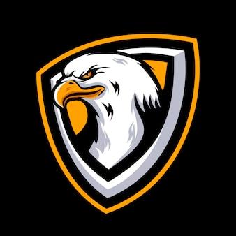 イーグルマスコットロゴ