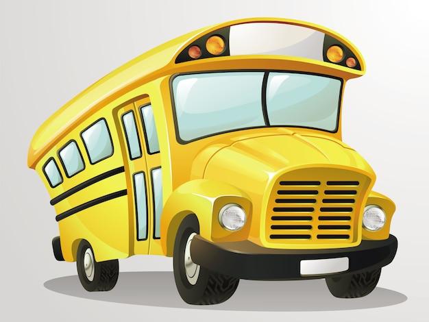 Мультфильм школьный автобус