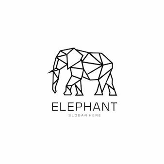 Дизайн логотипа слон