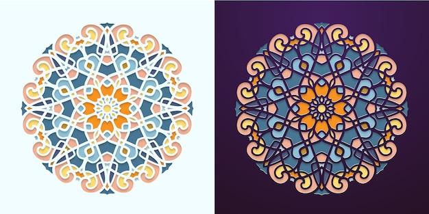 Тур в арабском стиле. красочная мозаика