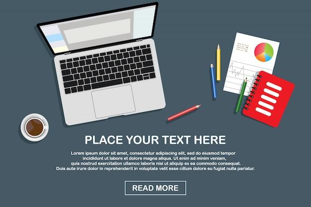 Дистанционное обучение, онлайн-обучение, иллюстрация онлайн-образования