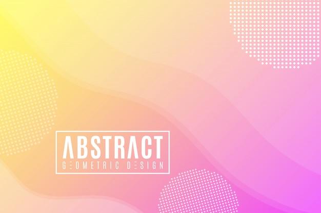 Абстрактный геометрический фон из волн. жидкий дизайн.