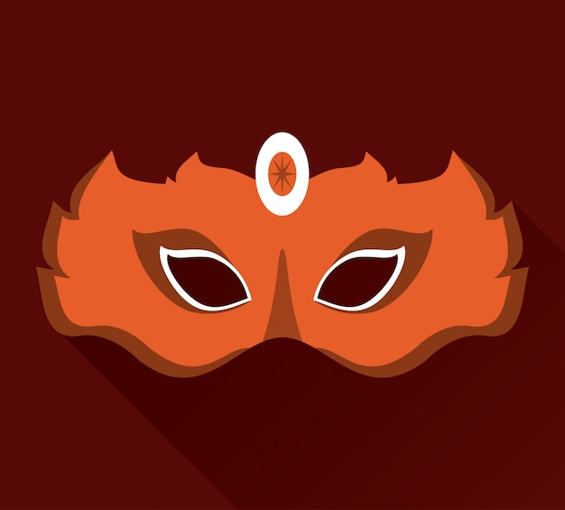 マルディグラマスクのアイコン