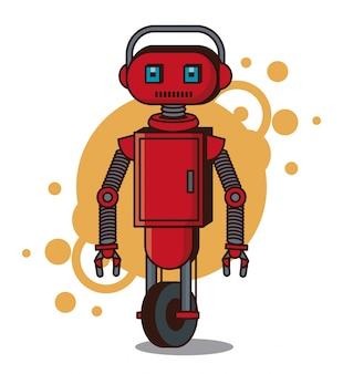 Робот забавный мультфильм
