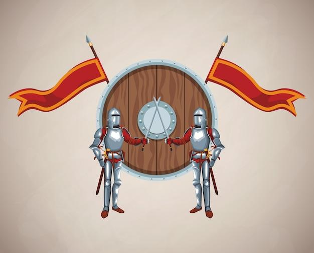中世軍紋章