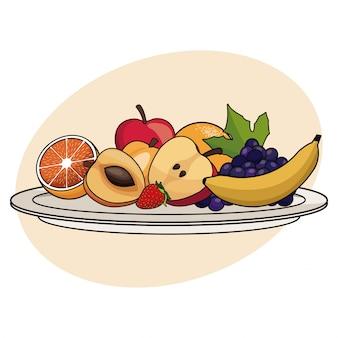 フルーツプレートの食品健康