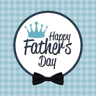 Счастливый день отца карты. приглашение на вечеринку