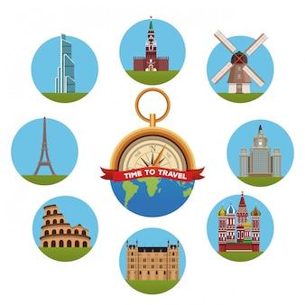 ラウンドシンボルのヨーロッパコンセプトへの旅