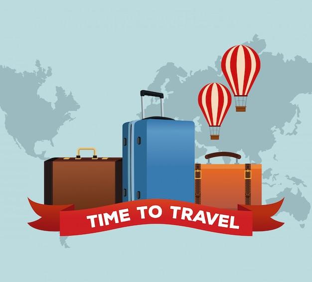 Время путешествовать по миру