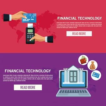 オンライン金融技術インフォグラフィック