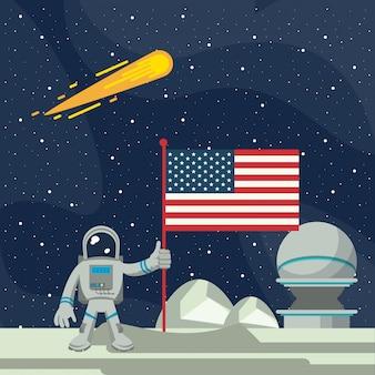 宇宙探検の冒険
