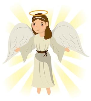天使の神聖な奇跡のシンボル画像