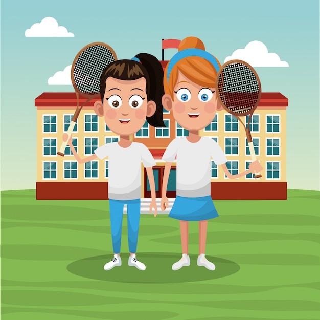Команда теннисной школы