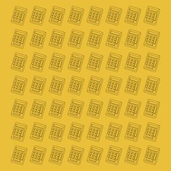 計算機パターンの背景画像