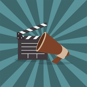 映画関連のアイコン画像