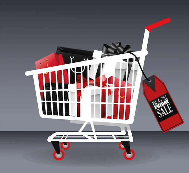 ショッピングカートアイコン内のギフト