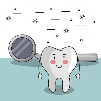 歯の面白い漫画