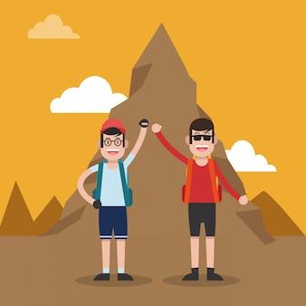登山スポーツ漫画