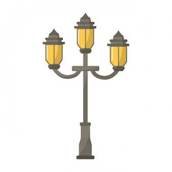 Старинный уличный фонарь