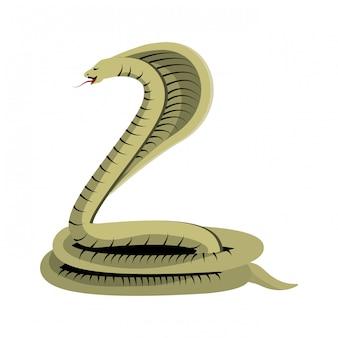 毒のコブラの蛇
