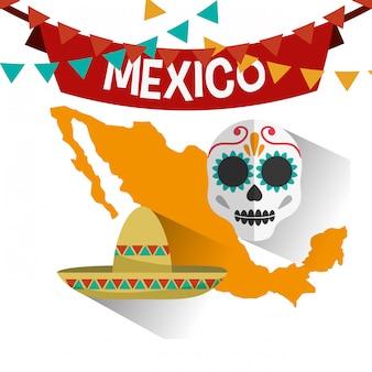 メキシコ文化のデザイン