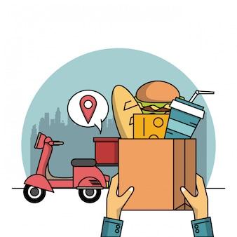 食品および配送