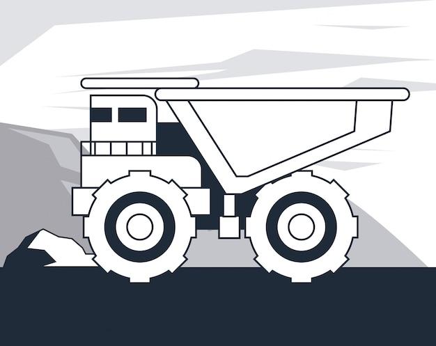 ダンプトラック車