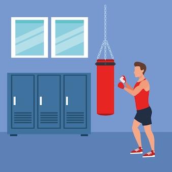 フィットネスマンボクシング