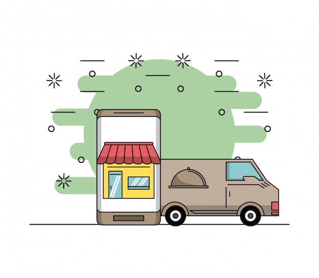 Заказывает еду онлайн