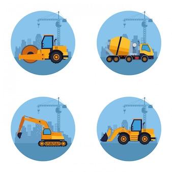 建設車両漫画