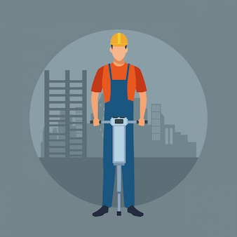 建設労働者のアバター