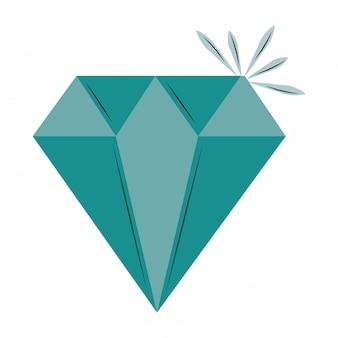 豪華なダイヤモンドの石