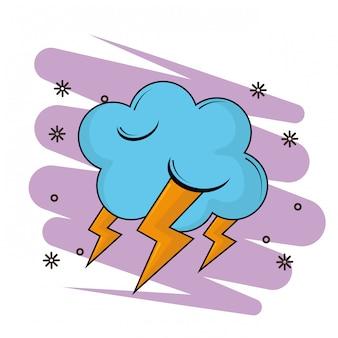 レイ漫画と雲