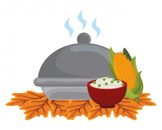 感謝祭の日の夕食