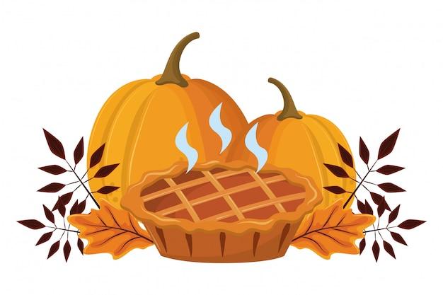 感謝祭の日のパイ