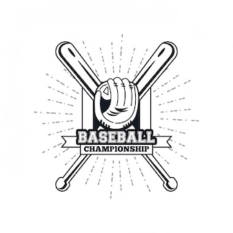 野球選手権のエンブレム