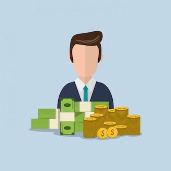 経済とお金関連のアイコン画像