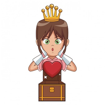 プリンセスビデオゲームの漫画